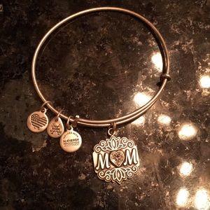 "Alex and Ani ""Mom"" bracelet"